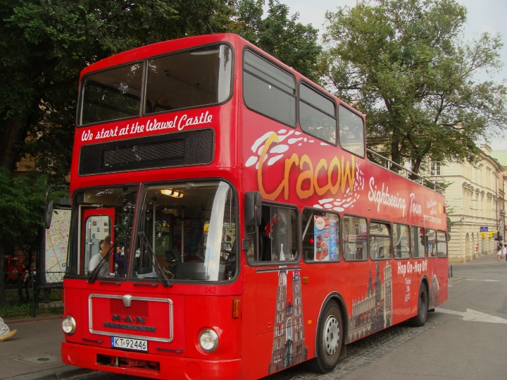 Hop on hop off sightseeing bus - Cracow City Tours