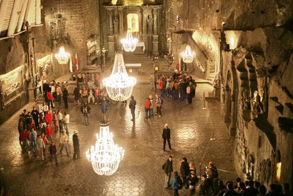 Salt Mine Wieliczka. Enjoy discovering the secrets of the Mine deep in the ground